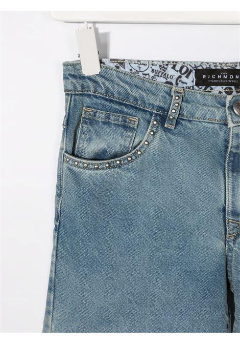 john richmond shorts in denim beery john richmond | Shorts | RGP21091SHW1617T