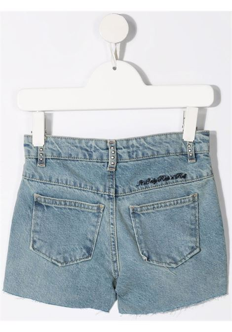 john richmond shorts in denim beery john richmond | Shorts | RGP21091SHW1617