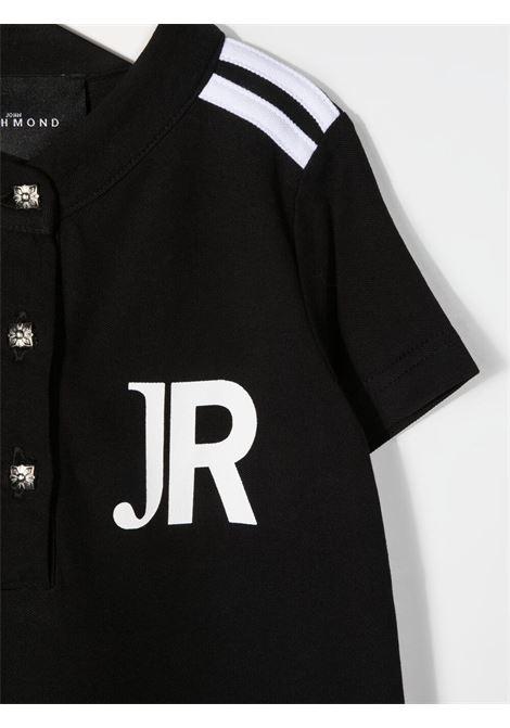 john richmond abito cotone con stampa logo john richmond | Abito | RGP21151VEW0148