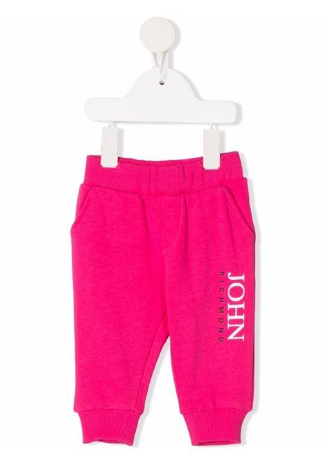 john richmond pantalone felpa  con stampa logo john richmond | Pantalone | RIP21042PAW0486