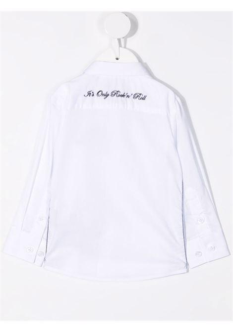 john richmond camicia con ricamo scritta logo john richmond | Camicia | RIP21129CAW0150