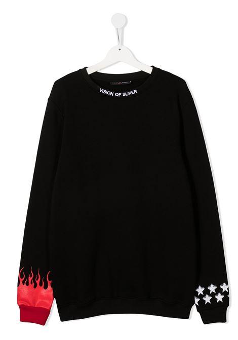 vision of super | Sweatshirt | KB12STARFLBLKT