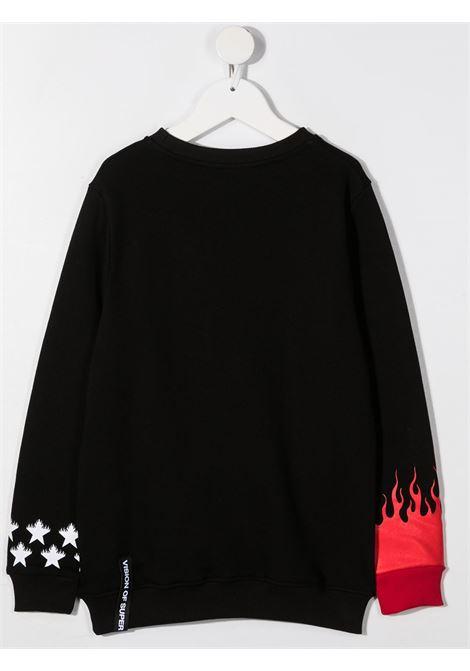 vision of super | Sweatshirt | KB12STARFLBLK