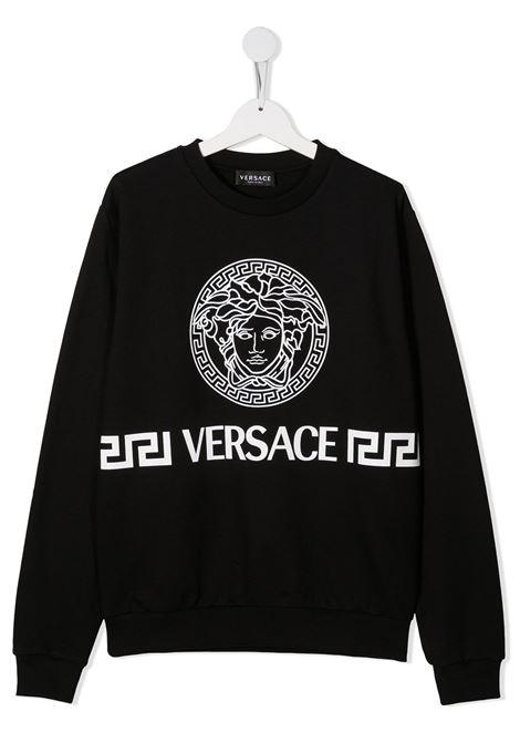 young versace felpa stampa medusa young versace | Felpa | 10001321A001752B020T