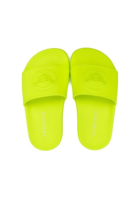 young versace ciabatta logata young versace | Slippers | YH000471A003331Y000