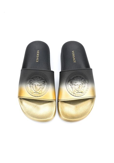young versace ciabatta logata young versace | Slippers | YHX00047YB00361YSGGT