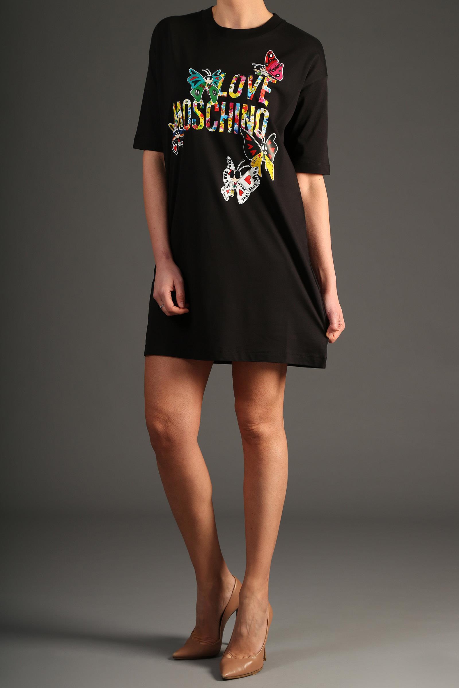 online retailer 91279 4a106 Abito Love Moschino