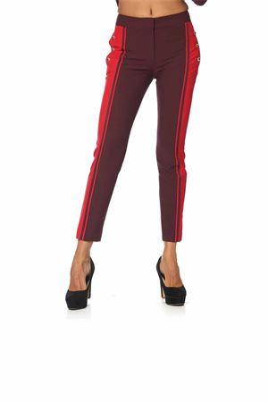 Pantalone atos Lombardini. atos lombardini | 9 | P040001GRANATA/RUBINO