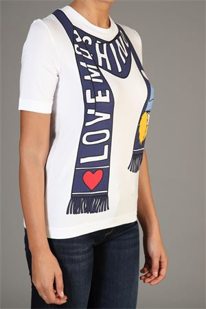 Maglia Love Moschino love MOSCHINO | 30000055 | W4F151CE1938BIANCO