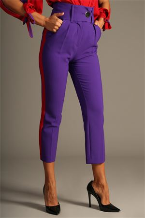 Pantalone Space Style Concept. space style concept | 30000048 | MPAR04VIOLA/ROSSO