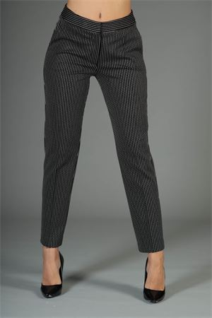 Pantalone Anna Rachele. Anna Rachele | 30000048 | PJ-07-0964NERO/ECRU