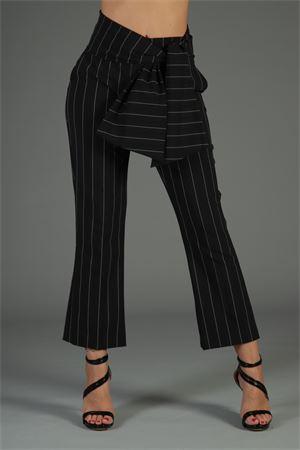 Pantalone Elix Cristinaeffe. CRISTINAEFFE | 30000048 | ELIXNERO GESSATO
