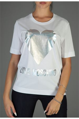 Maglia Love Moschino. love MOSCHINO | 30000055 | W4F151UM3517BIANCO