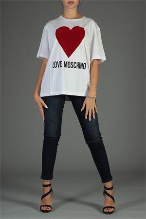 Maglia Love Moschino. Love Moschino | 30000055 | W4F8721M3517BIANCO