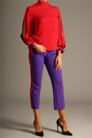 Blusa Space Style Concept. space style concept | 30000021 | MBL002ROSSO ARDENTE/VIOLA