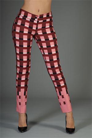 Pantalone Try Me. TRY ME | 30000048 | 214/Y44STQUADRO ROSA