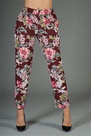 Pantalone Anna Rachele. Anna Rachele | 30000048 | PX-22-0975MOKA/MULTICOLORE