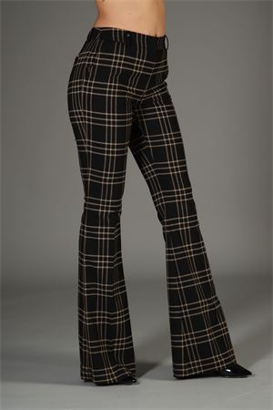 Pantalone Madras Cristinaeffe. Cristinaeffe | 30000048 | MADRASNERO CAMMELLO