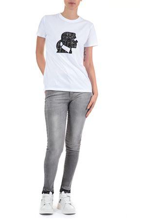 T-Shirt Karl Lagerfeld. karl Lagerfeld | 30000055 | 206W1700BIANCO