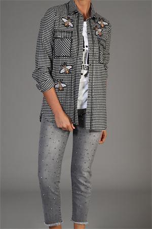 Camicia Lab by Anna Rachele. Lab Anna Rachele | 30000021 | CX010716BIANCO/NERO