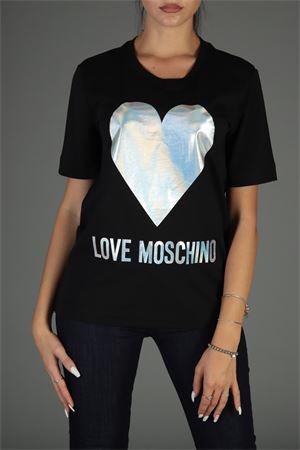 Maglia con logo. Love Moschino | 30000055 | W4F151UM3517NERO