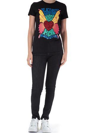 T-Shirt con stampa. Love Moschino | 30000055 | W4F731DM3876NERO