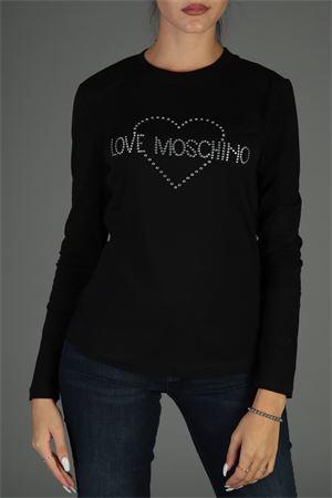 Maglia con logo. Love Moschino | 30000055 | W4G5207E2065NERO