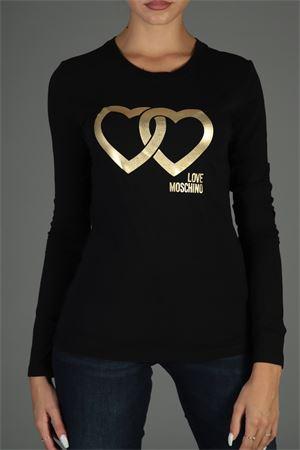 Maglia con logo. Love Moschino | 30000055 | W4G5208E2065NERO
