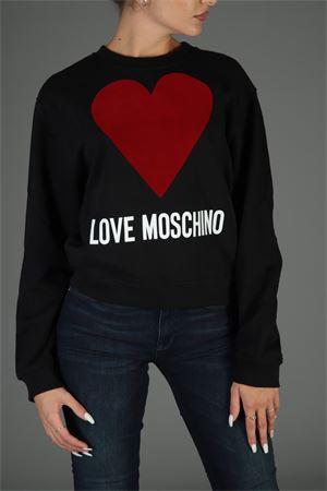 Felpa Love Moschino. Love Moschino | 30000055 | W630625M4068NERO