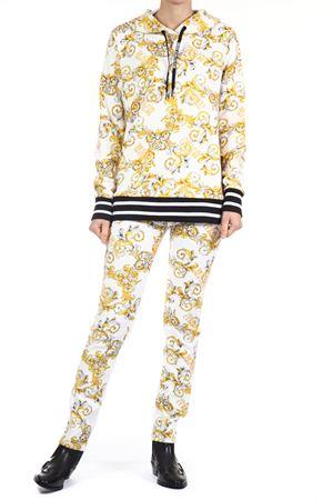 Felpa Versace Jeans Couture. Versace Jeans Couture | 30000051 | B6HZA797S0830003BIANCO OTTICO