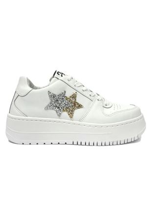 Sneakers 2Star 2STAR | 308898292 | 2SD3271-108WHITE-GOLD-SILVE