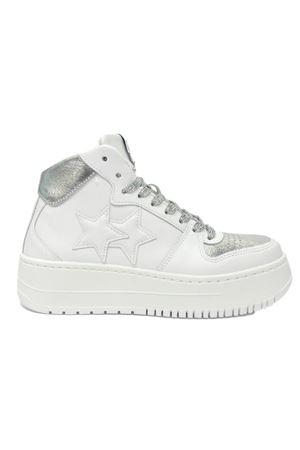 Sneakers Queen 2Star 2STAR | 308898292 | D3286-064WHITE-SILVER