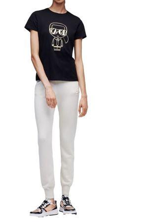T-Shirt Deco Karl Lagerfeld Karl Lagerfeld | 30000055 | 216W1705NERO