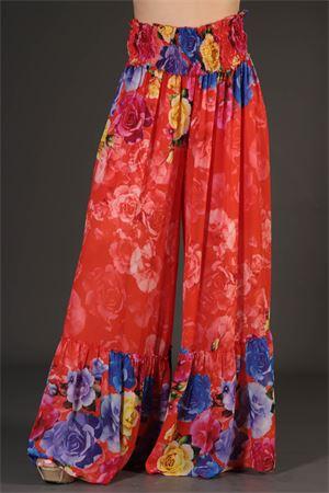 Pantalone Primula Cristinaeffe. Cristinaeffe | 30000048 | PRIMULAORANGE/MULTICOLOR