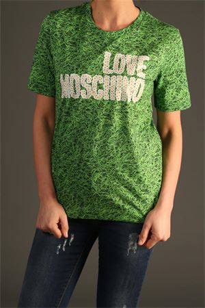 Maglia Love Moschino. love MOSCHINO | 30000055 | W4F151MM4045VERDE