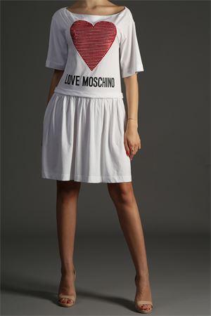 Abito Love Moschino love MOSCHINO | 30000047 | W5B0001M3517BIANCO