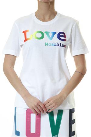 T-Shirt Love Moschino Love Moschino | 30000055 | W4H0606M3876A00WHITE