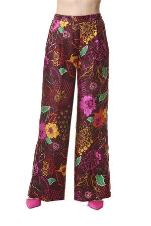 Pantalone Sfizio Sfizio | 30000048 | 21FE1273ALOEFLOWER NIGHT PRINT