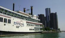 Detroit Princess Riverboat-HALF OFF CRUISE TICKETS ABOARD DETROIT PRINCESS RIVERBOAT