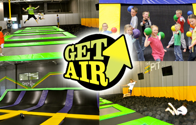 Get Air Temecula-$6 for a One Hour Session at Get Air ($12 Value)