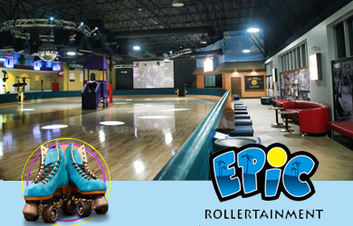 Epic Skate Center-$4.75 for One Skating Admission Reg. ($9.75)