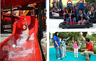 Mulligan Family Fun-$14.99 for an All Day Pass to Mulligan Family Fun Center (Including Water Slides)