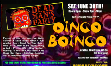 Heyday-$25 for Two Tickets for DEAD MAN'S PARTY a tribute to: OINGO BOINGO at BEL VINO WINERY on June 30th!