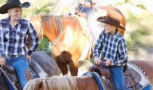 Green Acres Ranch-$40 for 75 Minute Family Fun Horseback Ride ($80 Value)