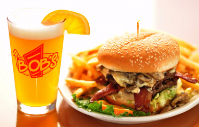 Bob's Burgers and Brew-$20 of Food and Drinks at Bob's Burgers and Brew for Only $10 - Valid at Both Locations!