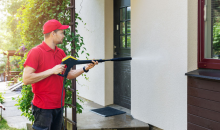 Crystal-Clear Cleaning-74% OFF Exterior Power Washing For Your Entire Home from Crystal-Clear Window Cleaning!