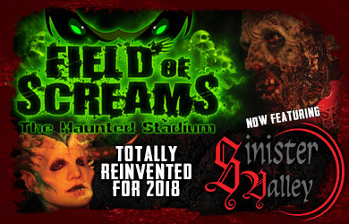 Storm Events-$15 for Admission into Field Of Screams Haunted Stadium at Storm Stadium!