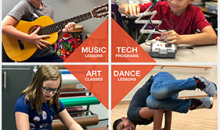 Boys and Girls Club -1 Month of Weekly Youth Music, Arts & Tech Classes, a $70 value for only $20!