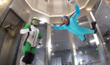 Perris Skyventure Indoor Skydiving-$49 for 1 Flyer to Experience 2 Flights ($110 Value)
