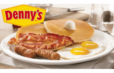 Denny's Restaurant and Lounge-$16 of Food and Drinks at Denny's Restaurant and Lounge for Only $8!